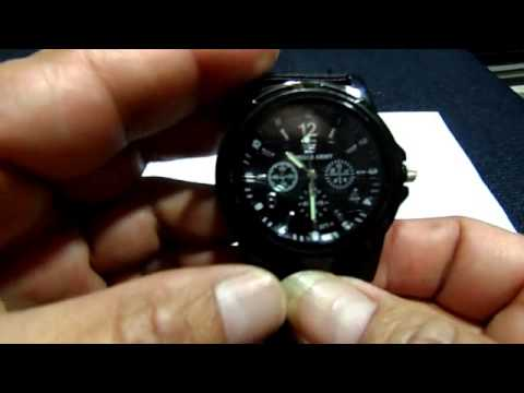 196 Reloj Gemius ARMY - YouTube cd38af921e