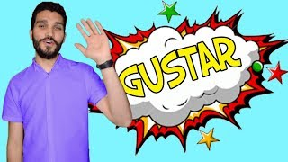 GUSTAR 1 Секреты глагола 🇷🇺🇪🇸 урок испанского языка на русском. Тайны глагола Gustar