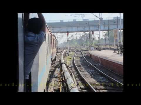 New Delhi Mumbai Duronto Express Blast! Vadodara-Mumbai Full Compilation