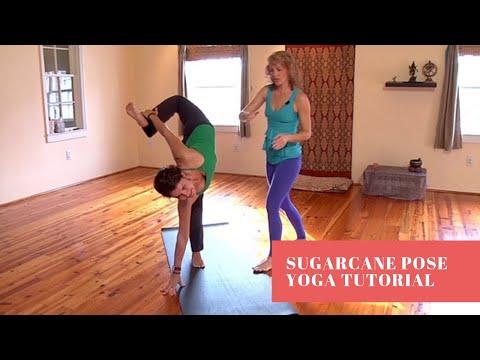 Yoga Tutorial: Sugarcane Pose (Ardha Chandra Chapasana)   Sarah Faircloth