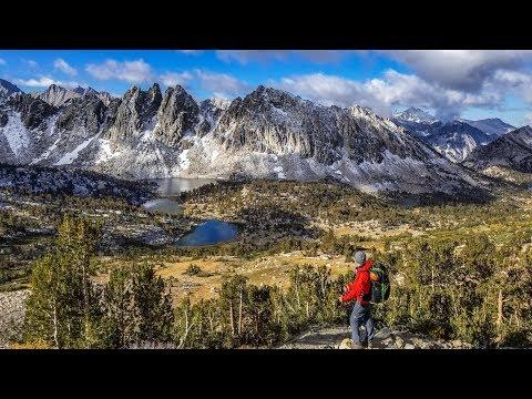 Backpacking Kearsarge Pass to Rae Lakes, Kings Canyon National Park