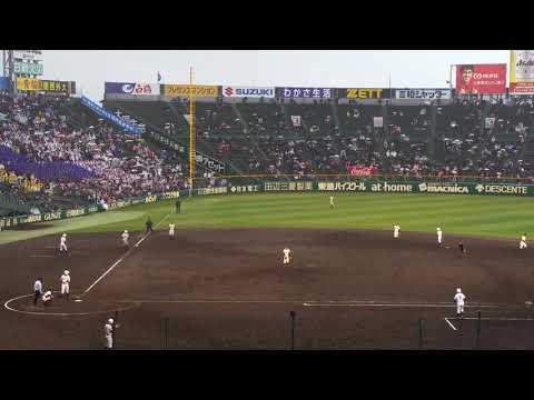 健大高崎のホームスチール!(2017年選抜 福井工大福井戦)