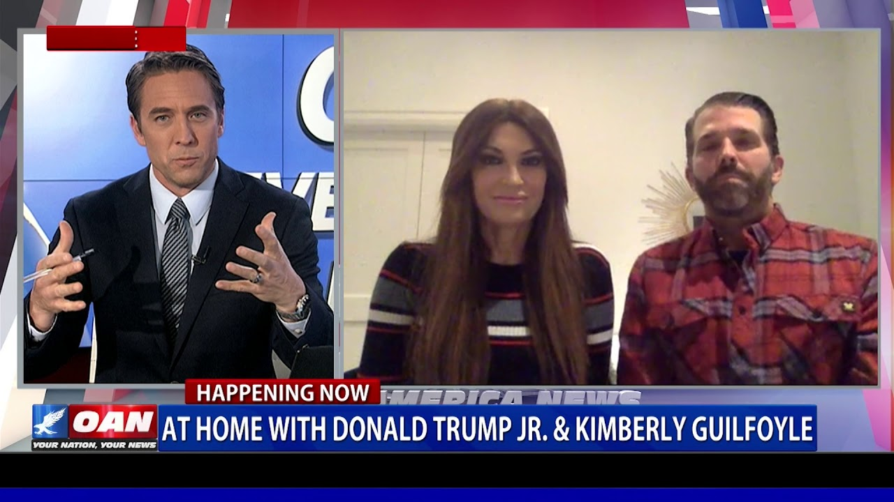 At home with Donald Trump Jr. & Kimberly Guilfoyle