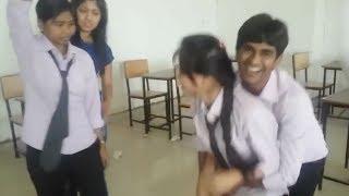 Classroom Masti by Indian School Students - Boys & Girls