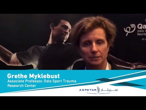 Grethe Myklebust- Associate Professor, Oslo Sport Trauma Research Center