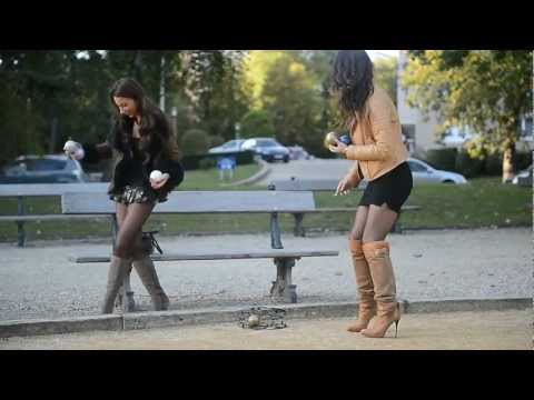 JULIE SKYHIGH & her friend in high heels & overknee boots from YouTube · Duration:  1 minutes 23 seconds