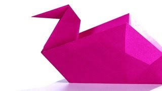 How to Make a Swan | Origami