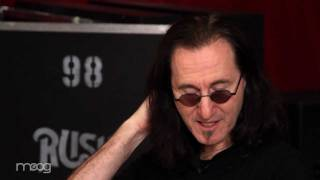 Geddy Lee on the Moog Taurus Pedals, Pt. 1