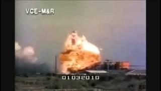Rocket Blast accident  /sound added