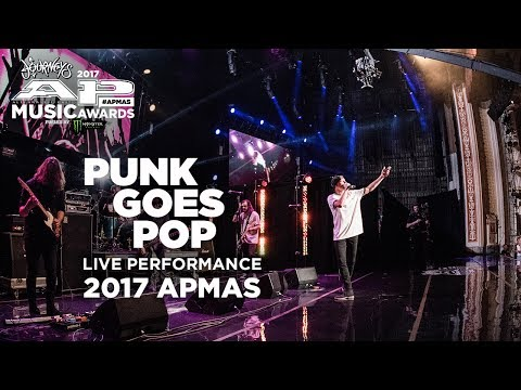 APMAs 2017 Performance: PUNK GOES POP LIVE! medley, STATE CHAMPS