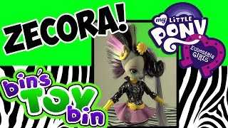 Equestria Girls Zecora My Little Pony Toys R Us Exclusive Doll Review! By Bin's Toy Bin