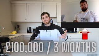 How This Trader Mąde £100,000 Trading The Stock Market ( Zed Monopoly student case study)