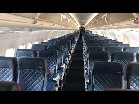 Delta Airlines MD-88 Cabin Walk-Thru