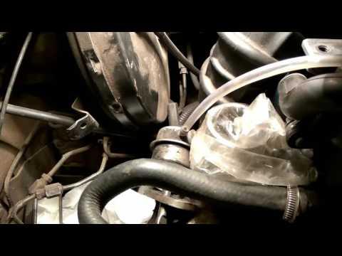 Проверка мембраны актуатора турбины  Форд 1.8TD
