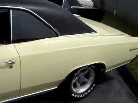 1966 CHEVELLE SS COUPE - HAS A 396 TURBO JET