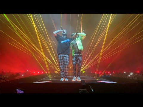 Post Malone - Sunflower (w/Swae Lee) AND Rockstar (Live) Boston, MA - TD Garden [10.8.2019]