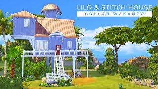 Sims 4  |  Speedbuild  |  Lilo's House  |  Collab w/ Kanto!