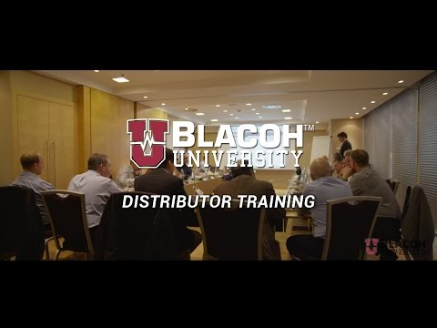 Blacoh Distributor Training Program Overview