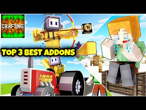 Top 3 Popular Addons For Crafting And Building