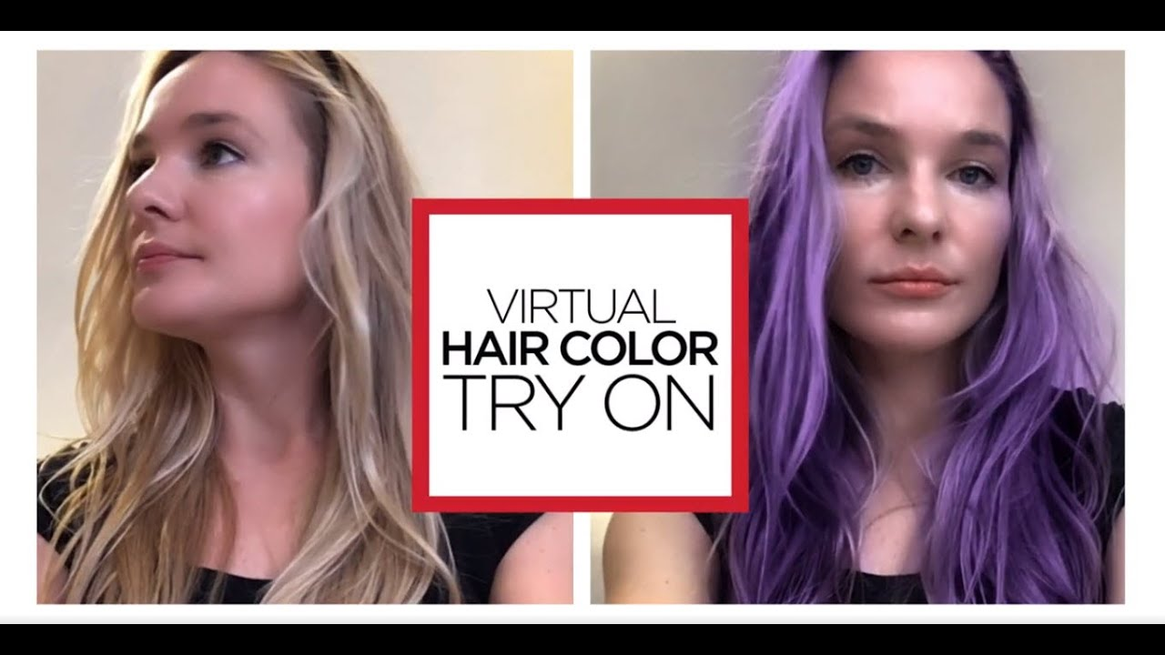 Image result for try it on hair color
