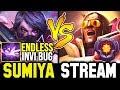 SUMIYA vs 8K MMR Bug Abuser (80min Game)   Sumiya Invoker Stream Moment #731