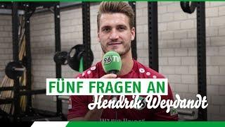 Spieler-Porträt 2018/19 | Hendrik Weydandt