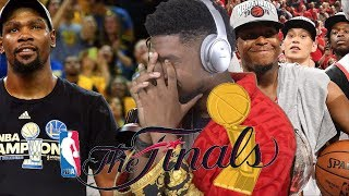 I HAVE TO CHOOSE BETWEEN DURANT & LOWRY... NBA FINALS GAME 1 HIGHLIGHTS