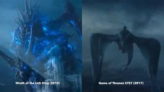 Game of Thrones Season 7 Finale and WoW: Wrath of the Lich King parallel
