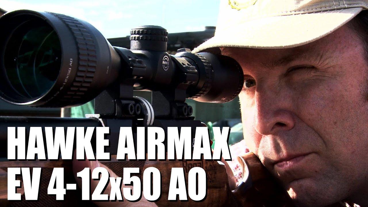 Hawke airmax ev 4 12x50 ao review youtube