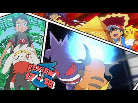 ☆SCORBUNNY EVOLVES & ASH ENTERS THE WORLD TOURNAMENT!// Pokemon (2019) Anime Episode 17 & 18 Review☆