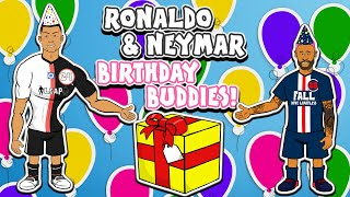 🎁Ronaldo & Neymar: Birthday Buddies🎁