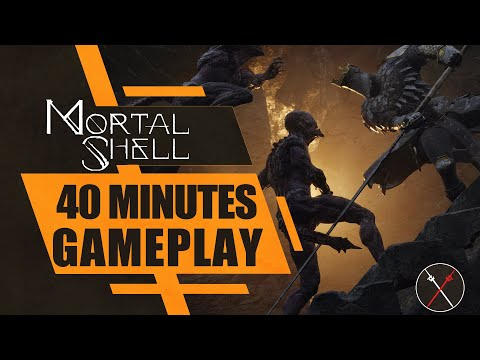 Mortal Shell Gameplay: First 40 Minutes (Souls-Like)
