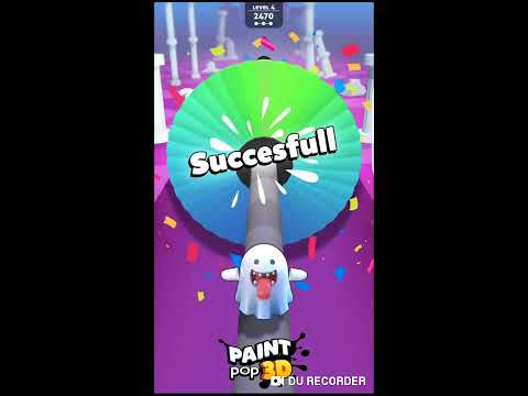 Paint Pop 3D - Gameplay Download It  Now On Your  (iOS, Android) Phone