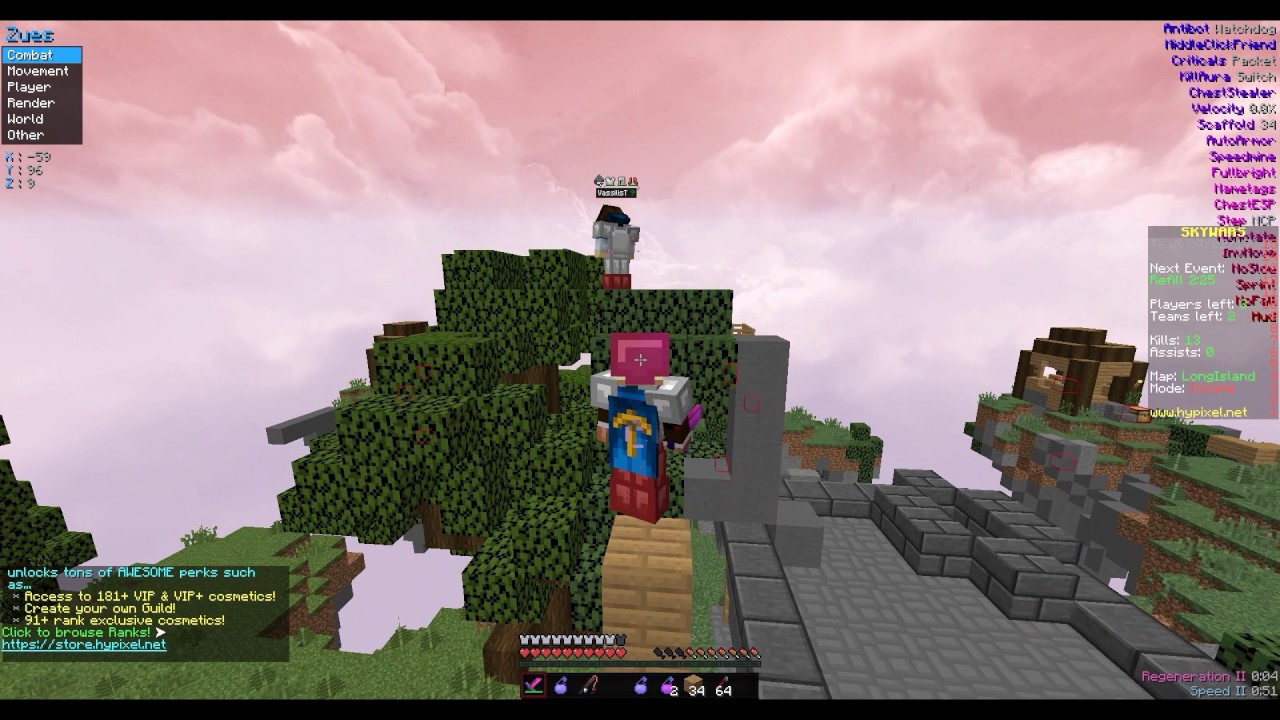 2012 Minecon Cape Account Hacking On Hypixel - YouTube