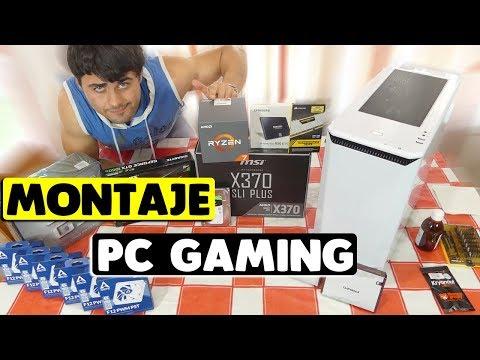 Monta tu propio PC GAMING en solo 20 MINUTOS!!