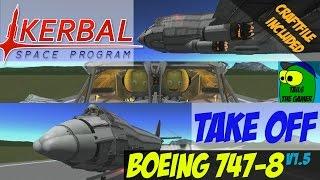 Kerbal Space Program Boeing 747-8 build v1.5 Craftfile included.