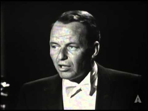 Frank Sinatra Speaks His Mind