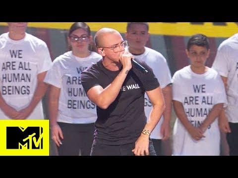 "Logic Performs ""One Day Ft  Ryan Tedder"" MTV VMAs | Live Performance"