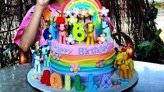 Download Kue Ulang Tahun My Little Pony ♥ Dapat Kejutan dari Bunda
