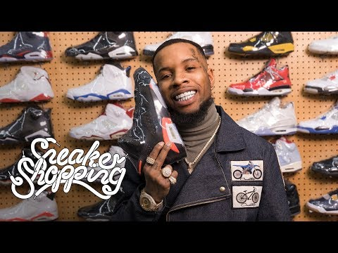 Tory Lanez Goes Sneaker Shopping With Complex