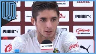 El futbolista de Chivas aceptó que el Guadalajra va en ascenso y pueden sorprender al América en el siguiente Clásico Nacional