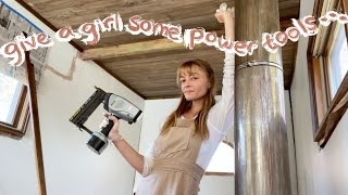 Bedroom Makeover: cottagecore meets power tools 🧚‍♂️🛠