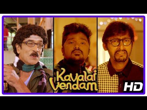 Kavalai Vendam Movie Scenes | RJ Balaji...