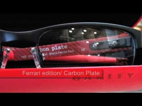 9a6b80dabd Oakley Ferrari Carbon plate OX5079 unbox 眼鏡開箱- YouTube