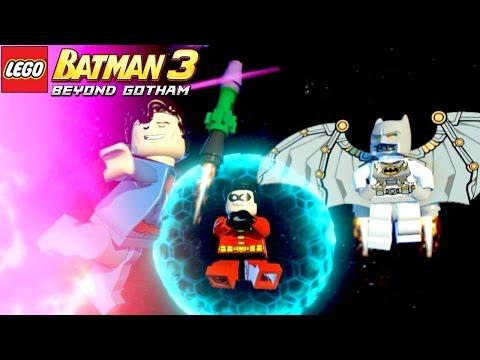 LEGO Batman 3 Beyond Gotham | #3 Liga da Justiça Lutando No Espaço