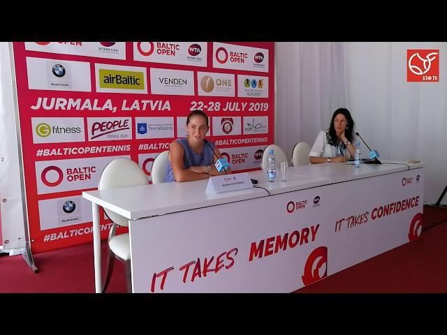 BALTIC OPEN. Топовые латвийские теннисистки говорят о развитии тенниса в своей стране