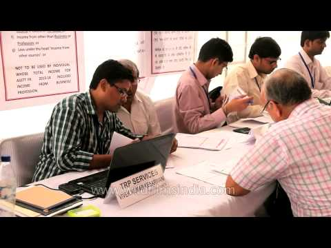TRP ( Tax Return Prepare ) services by Income Tax Department
