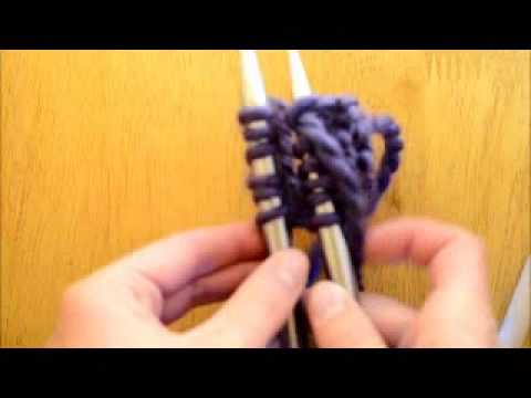 How to do the Three Needle Bind Method - Melody's Makings' How to Knit Series Segment 6
