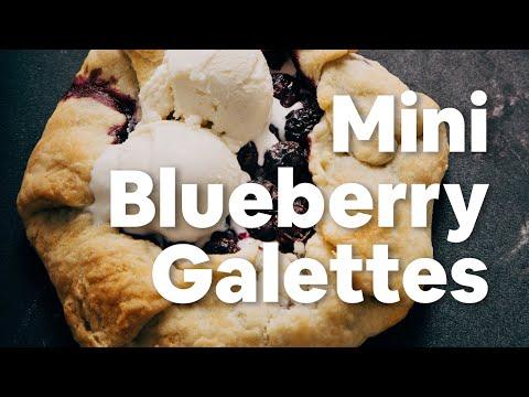 Mini Blueberry Galettes | Minimalist Baker Recipes