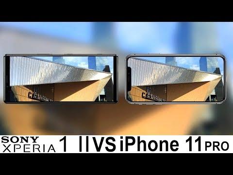 Sony Xperia 1 II Vs IPhone 11 Pro Camera Test